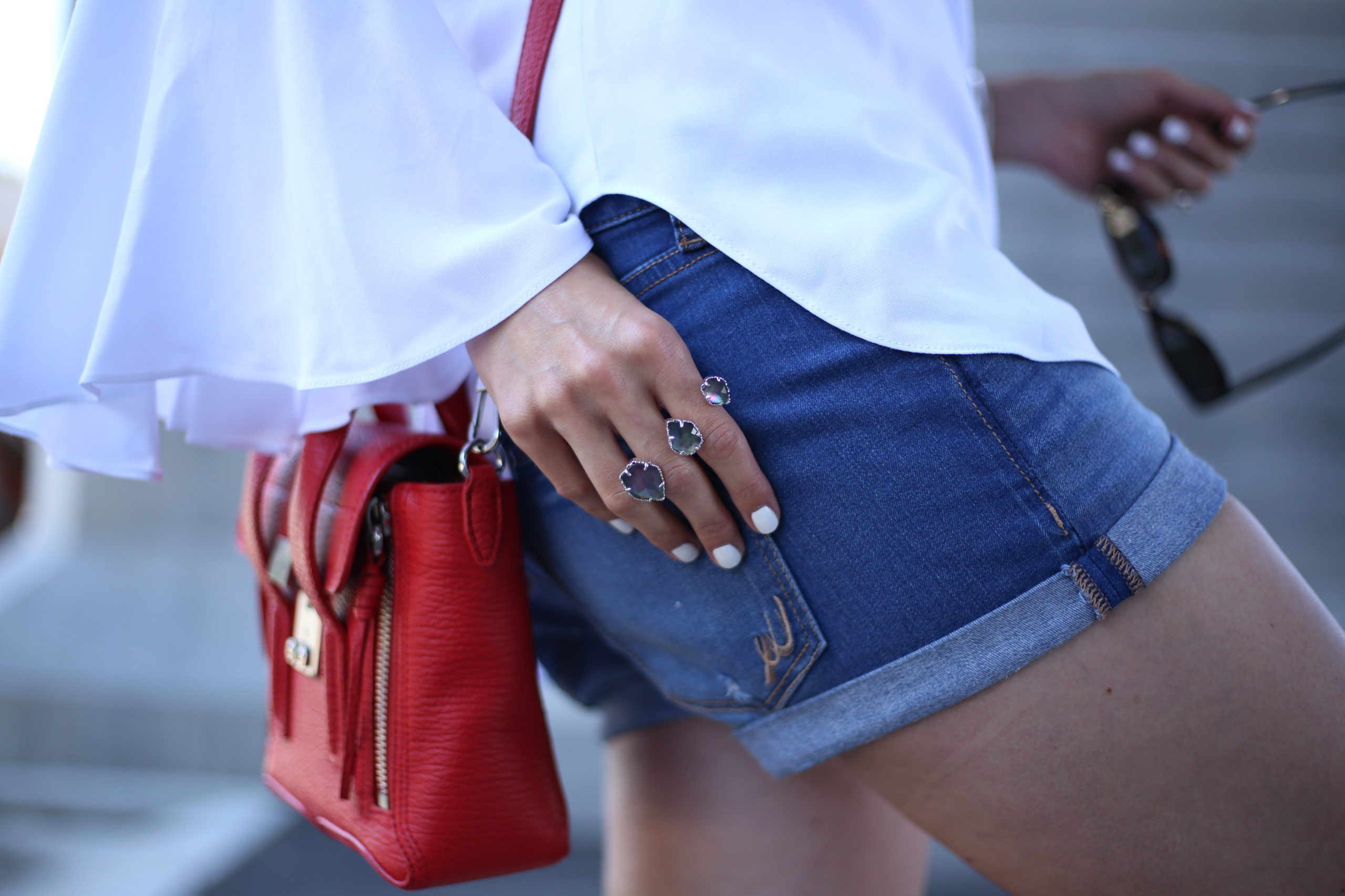 Red, White & Blue – Casual Weekend Look