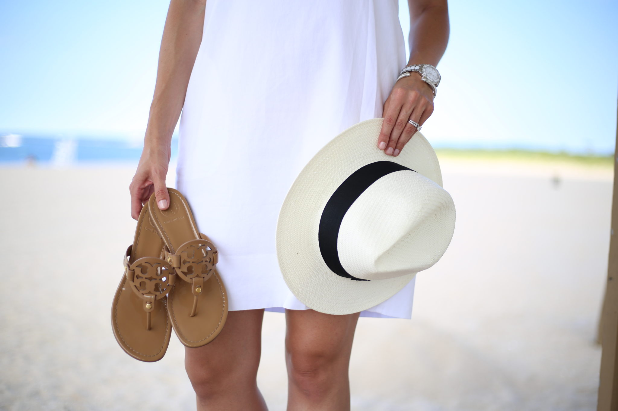 Life's a Beach – White Summer Dress