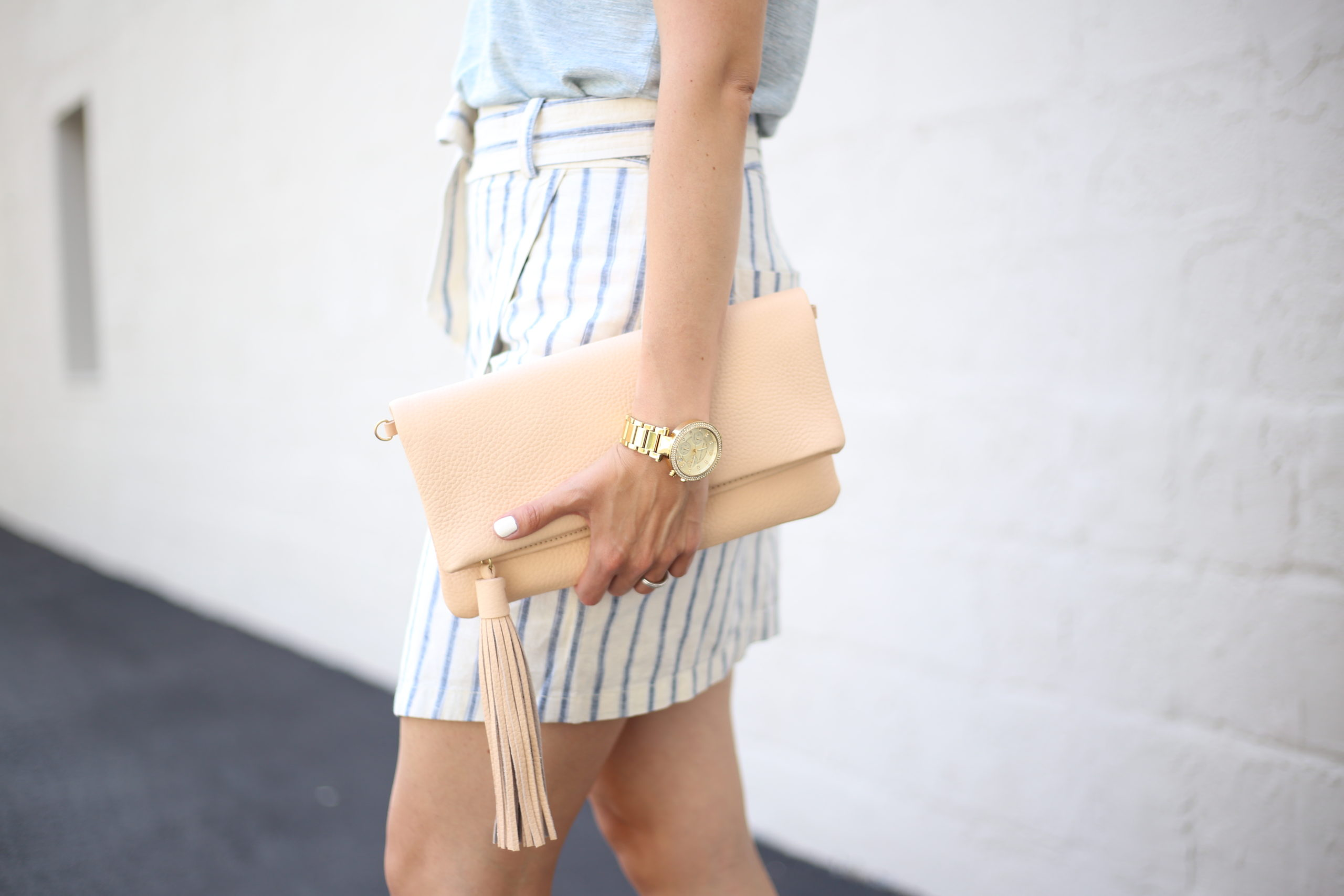 Ikat Stripes and Summer Days