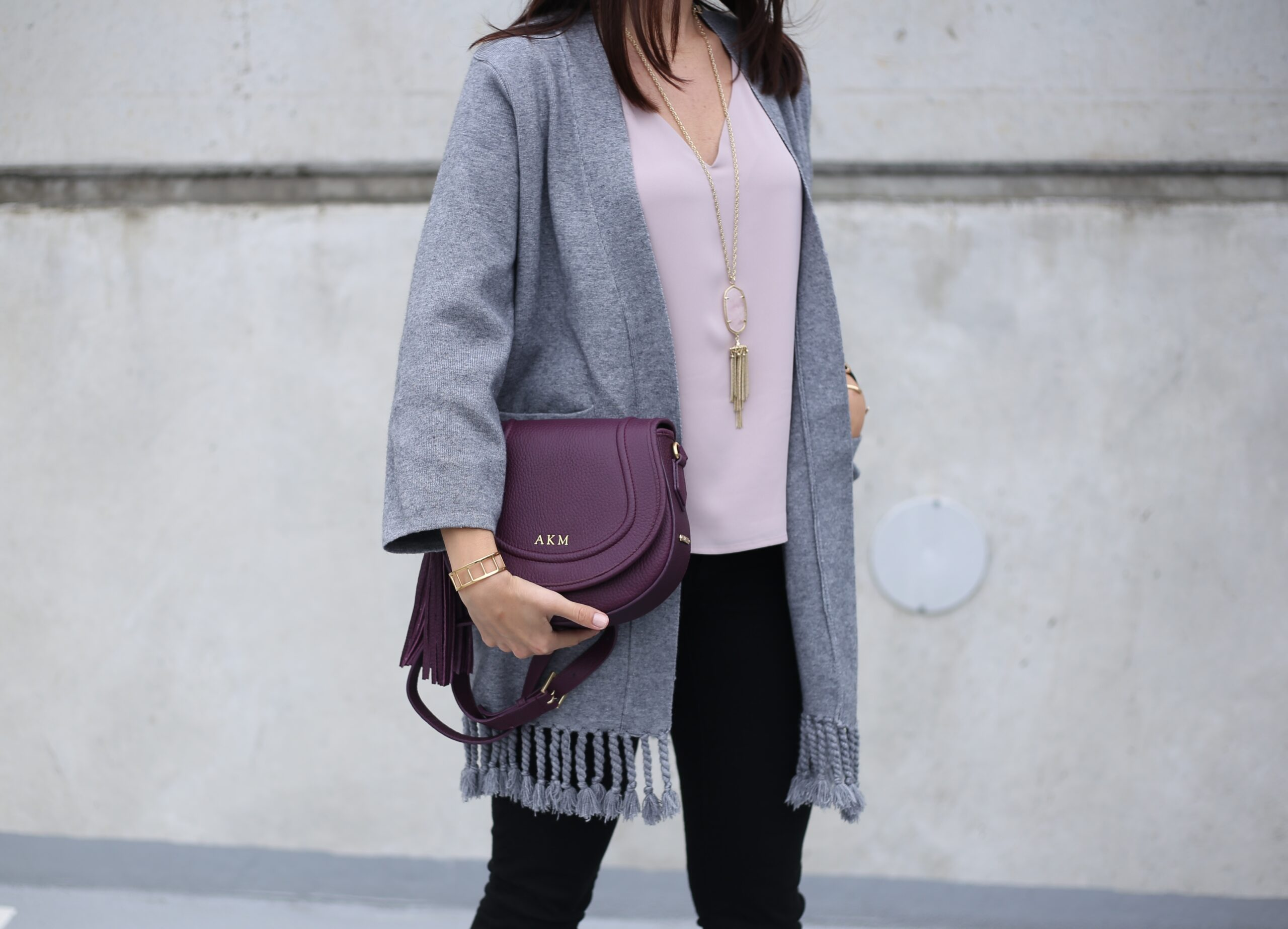 Mauve, Burgundy and Greys – the New Fall Colors