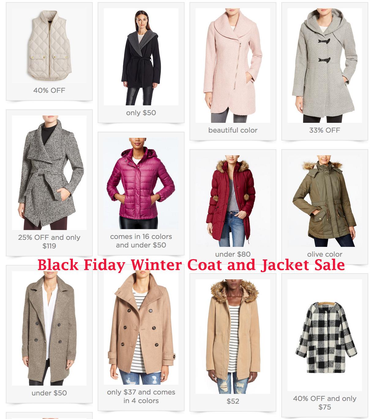 Black Friday Sales – Coats & Jackets