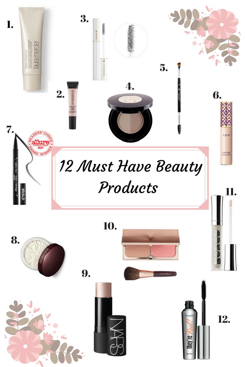 12 Must Have Beauty Products