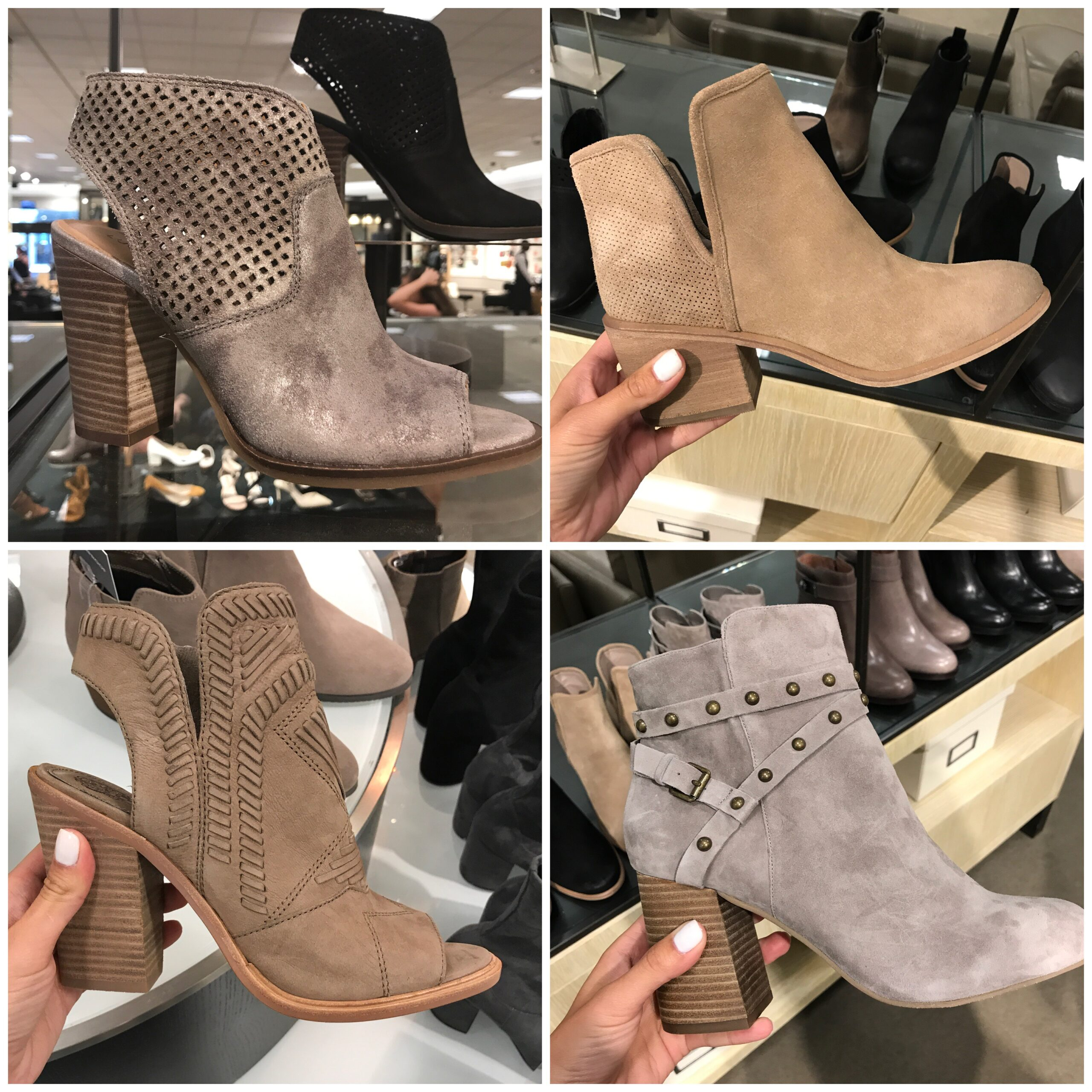 Nordstrom Anniversary Sale 2017 Booties by Anna Monteiro of Blushing Rose Style