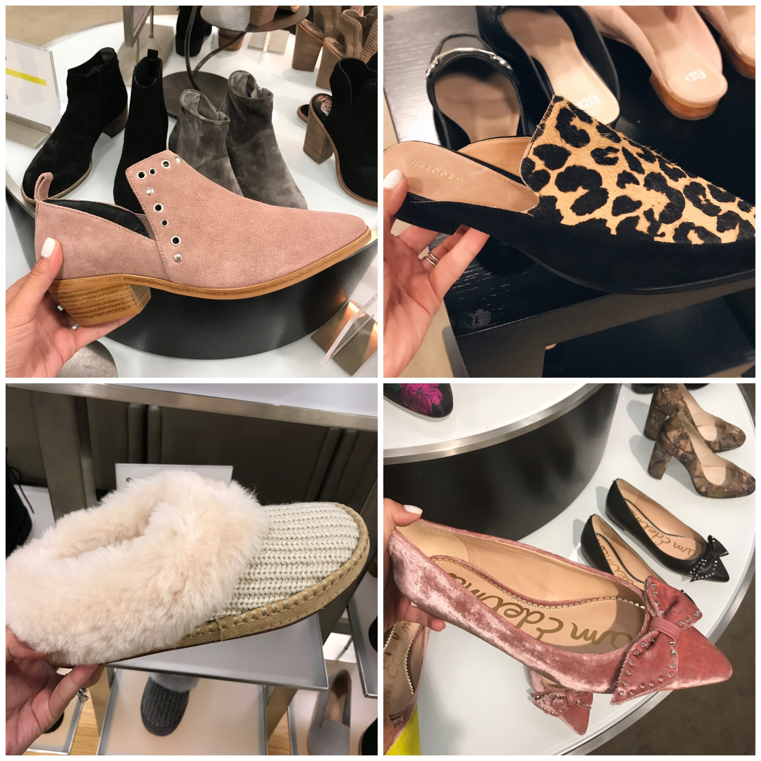 Anna Monteiro of Blushing Rose Style fashion blog wearing flats from Nordstrom Anniversary Sale 2017