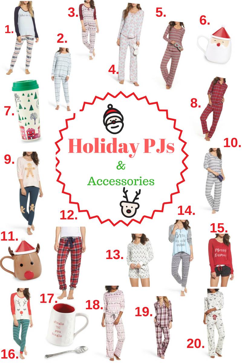 Holiday PJs and Accessories
