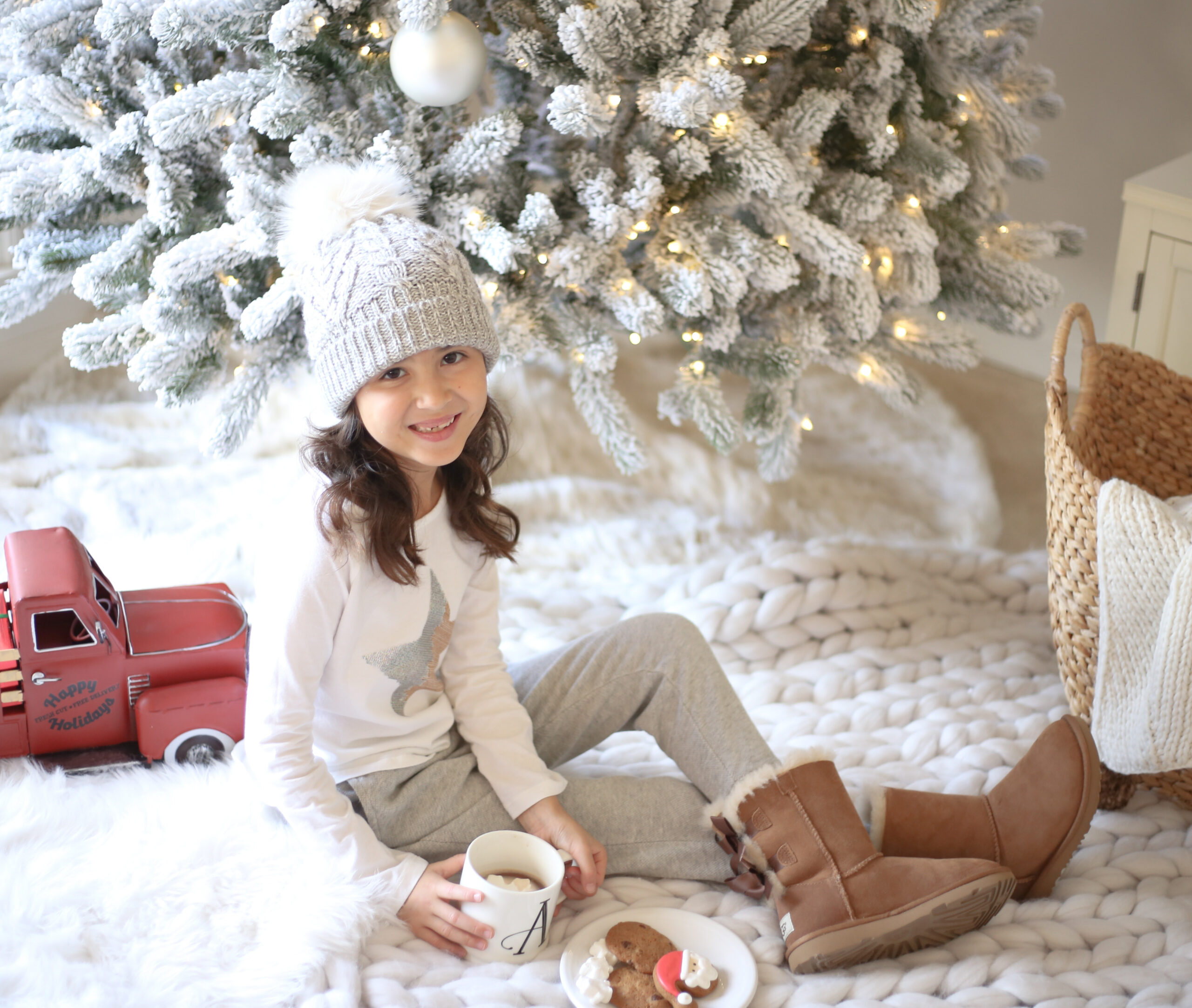 ugg boots for girl, kids fashion cozy for the holidays