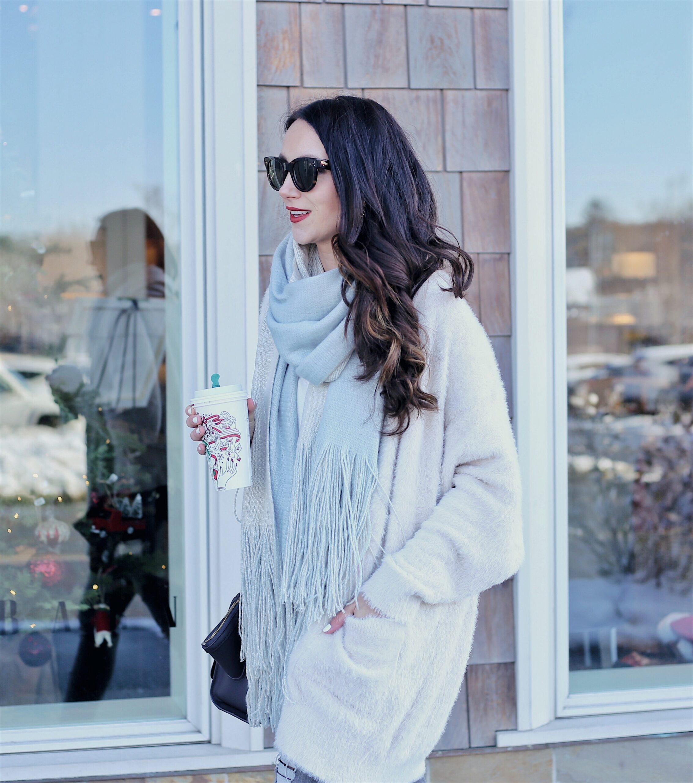 cozy winter layers