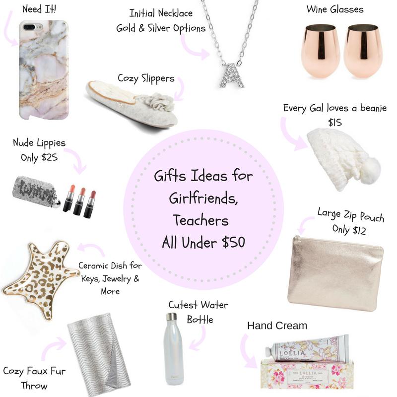 Gifts Under $50 For Girlfriends, Teachers (Male & Female)