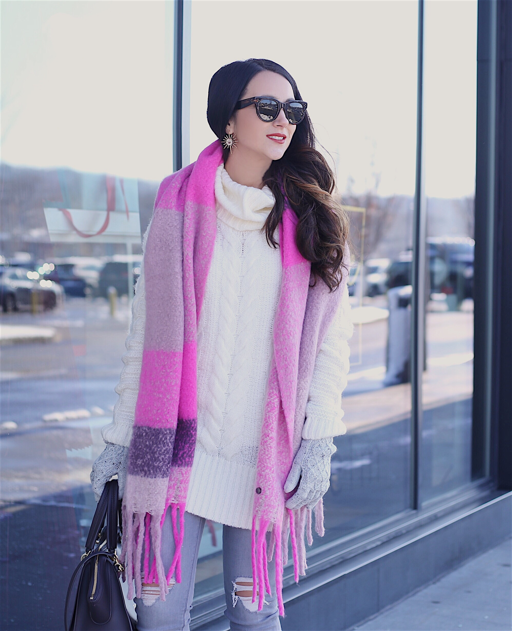 cozy layers blanket scarf