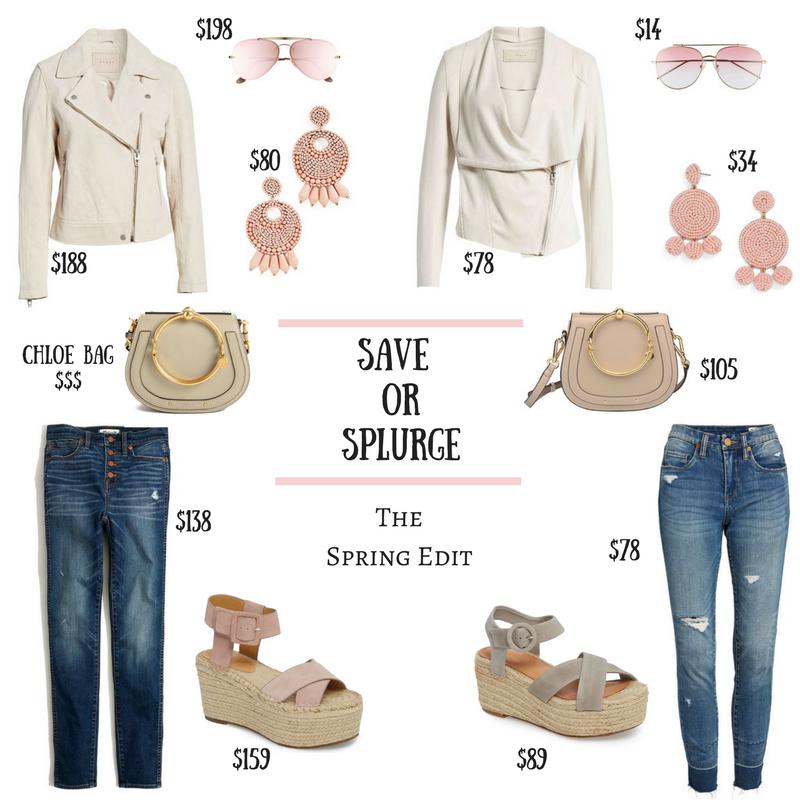 Save Or Splurge – The Spring Edit