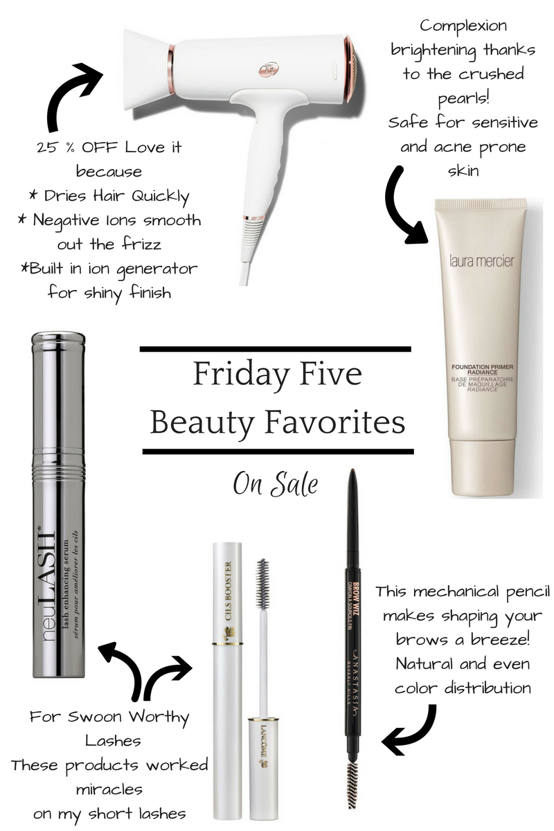Friday Five - Beauty Favorites On Sale