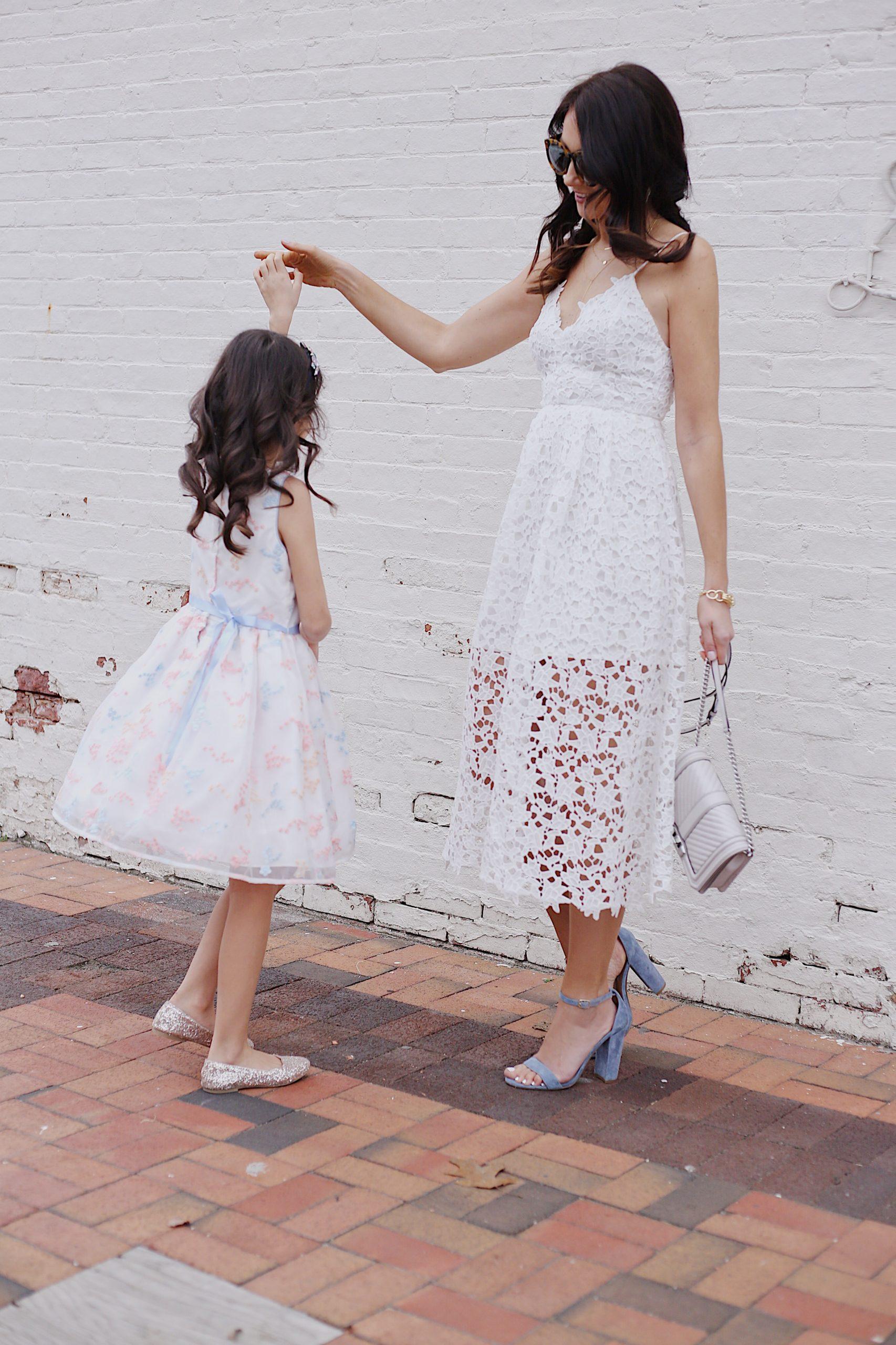 easter dress  mommy  me fashion  blushing rose style blog
