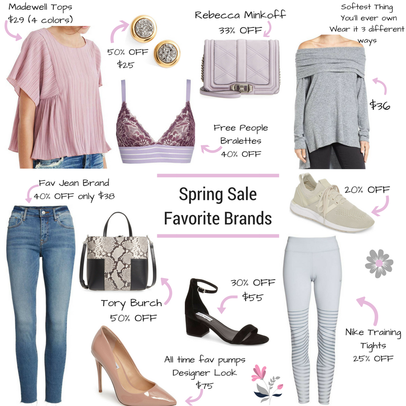 Spring Sale -Favorite Brands