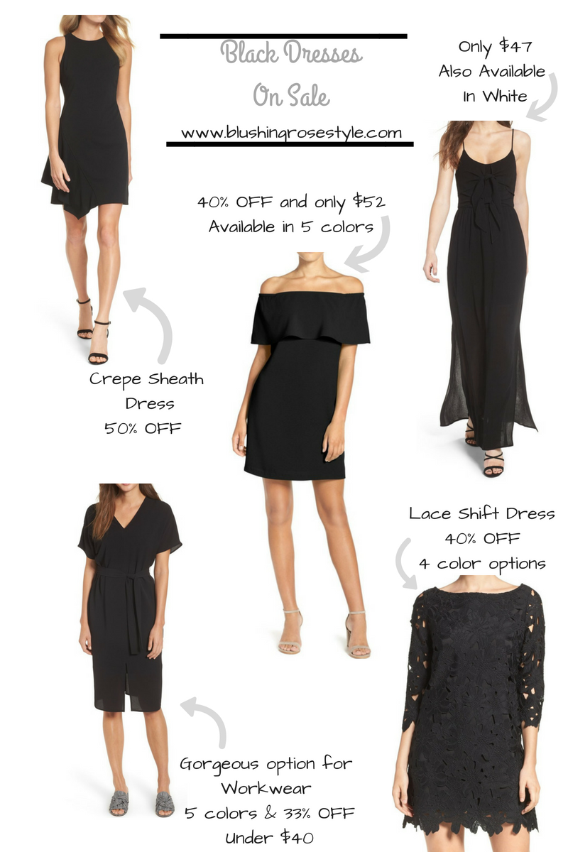 black dresses for all occasions