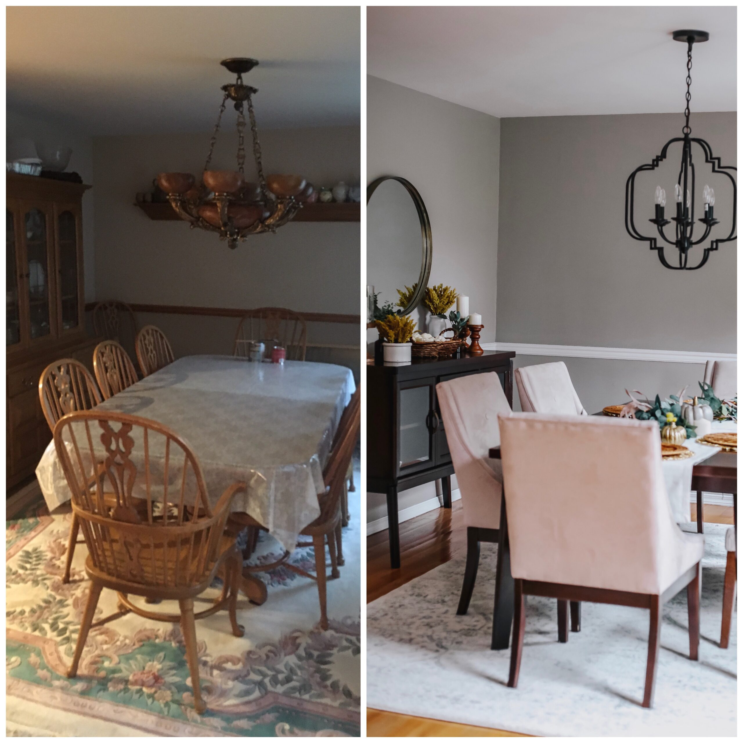dining room makeover, how to transform your dining room