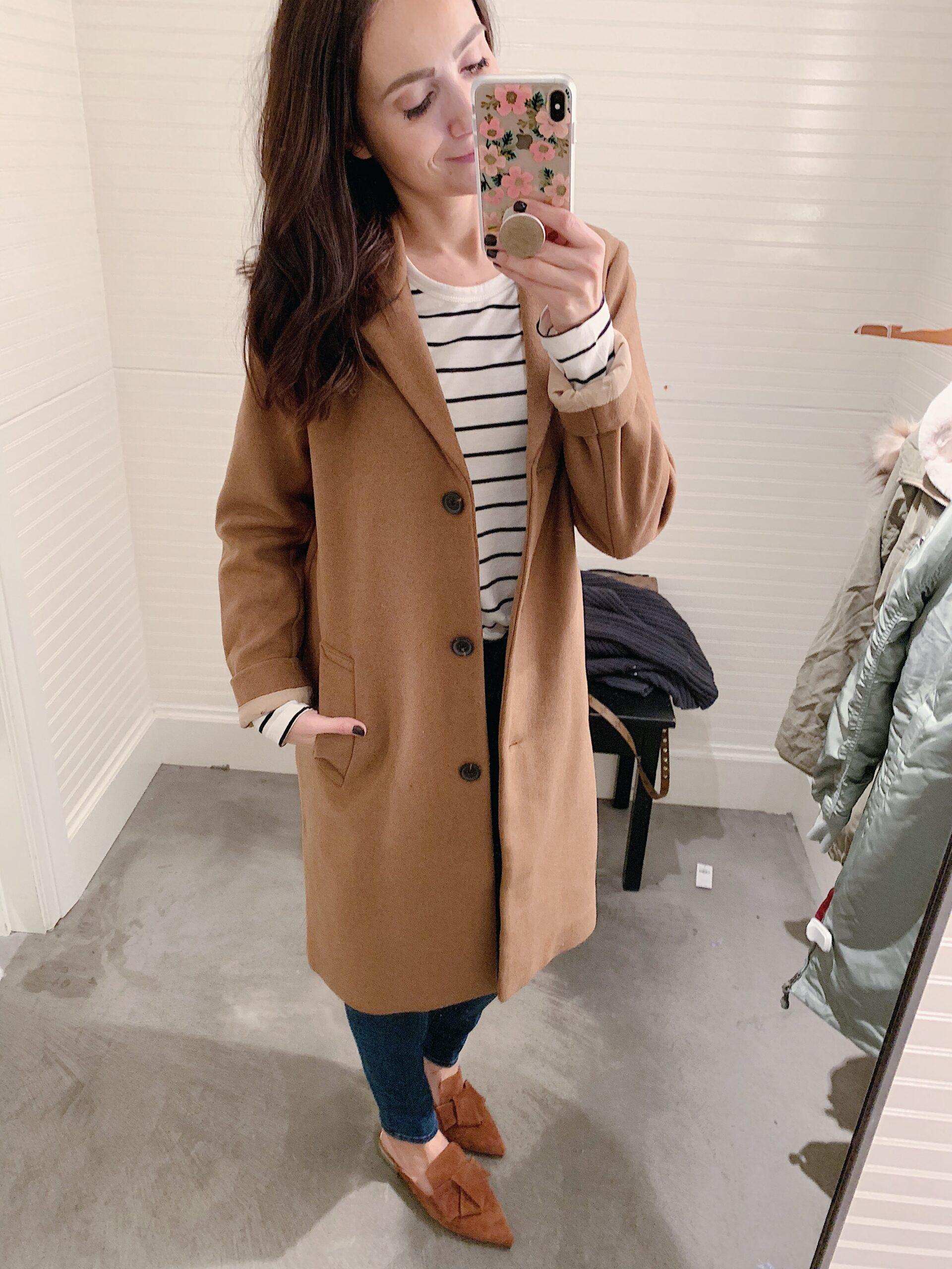 wool coat on sale