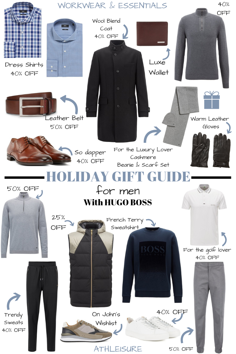 Holiday Gifts for Men with HUGO BOSS
