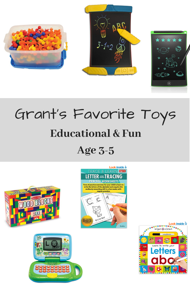 Educational Toys for Busy Toddlers