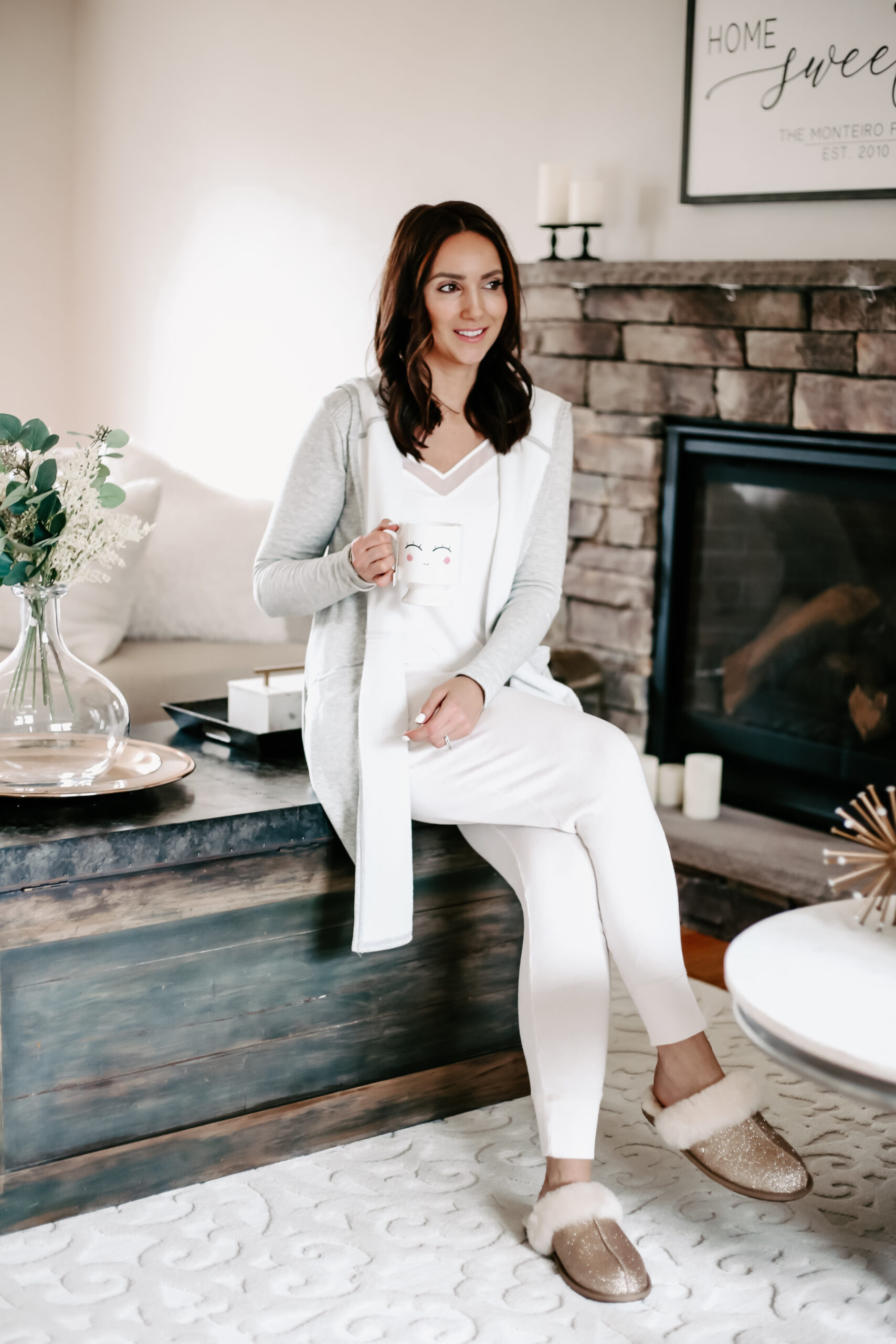 cozy loungewear outfit