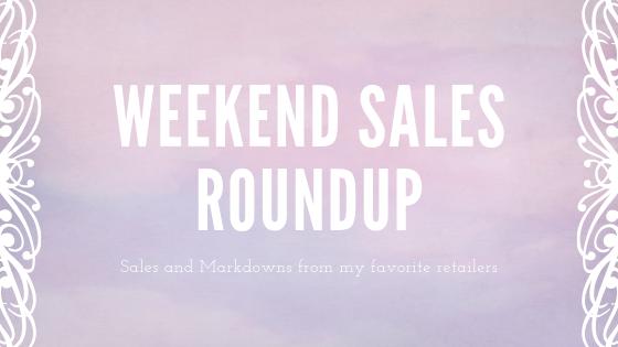 Weekend Sales Round-up 8.10