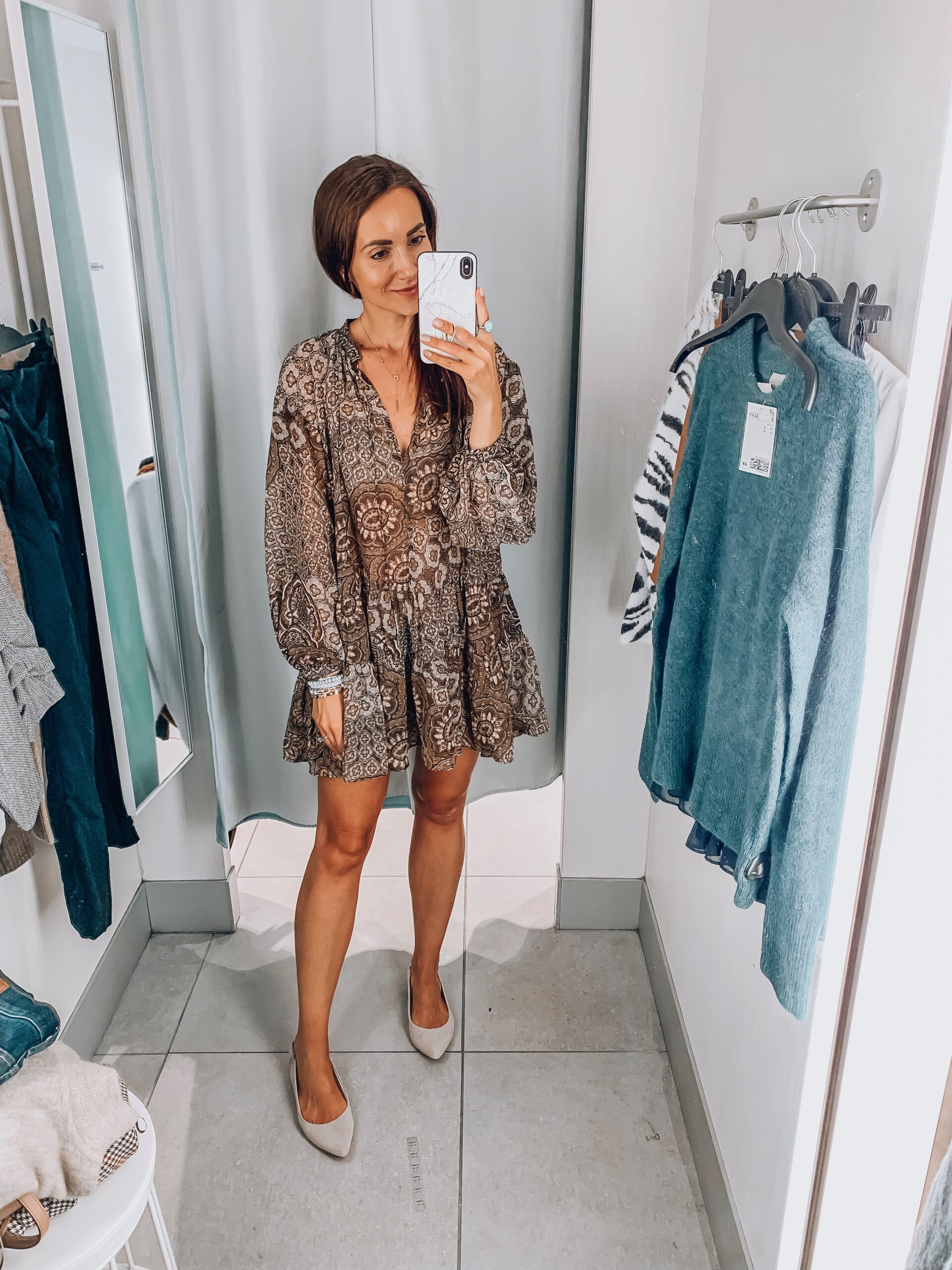 tunic, h&m try-on