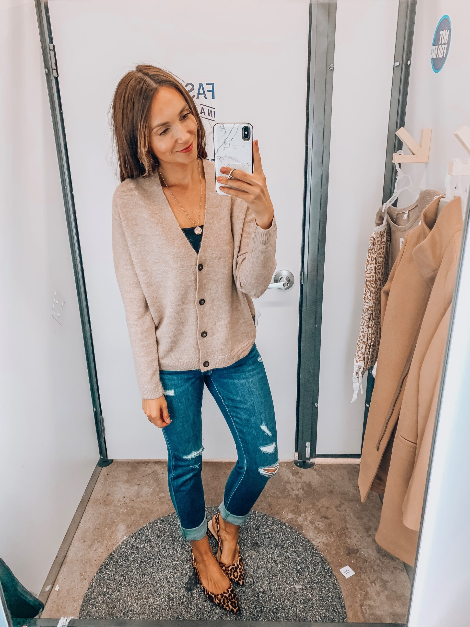 Slouchy sweater, jeans, old navy