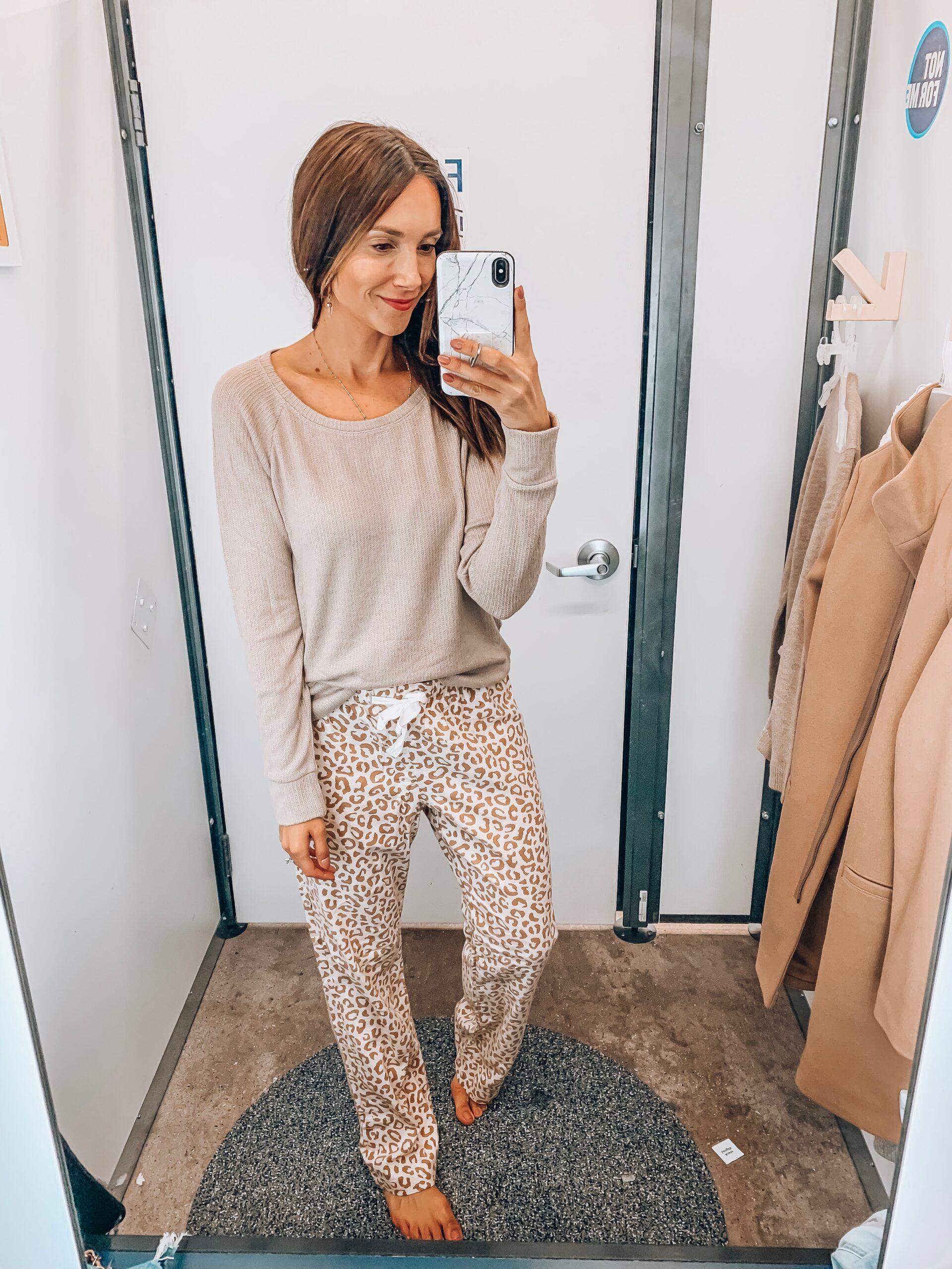 cozy loungewear, pj bottoms, thermal