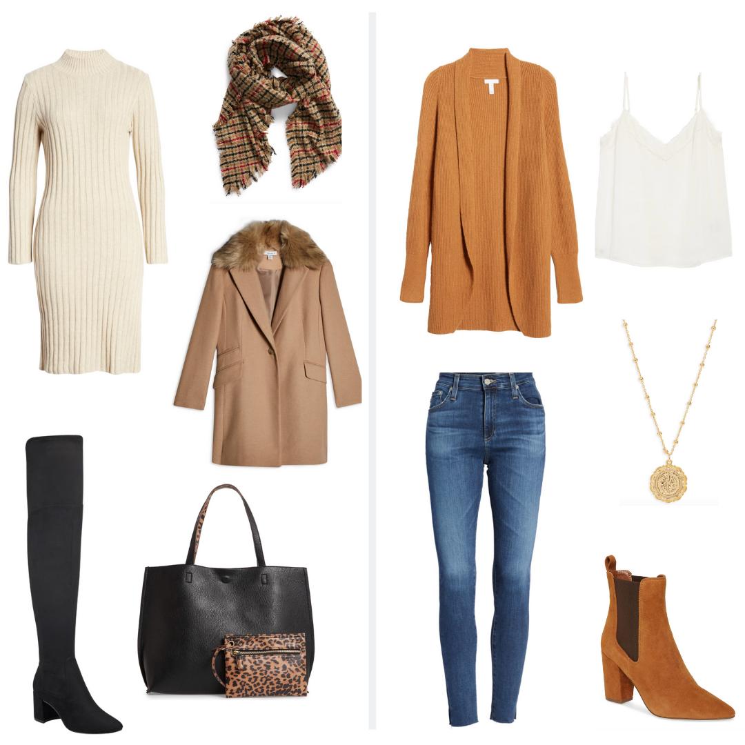 Fall Capsule Wardrobe Essentials