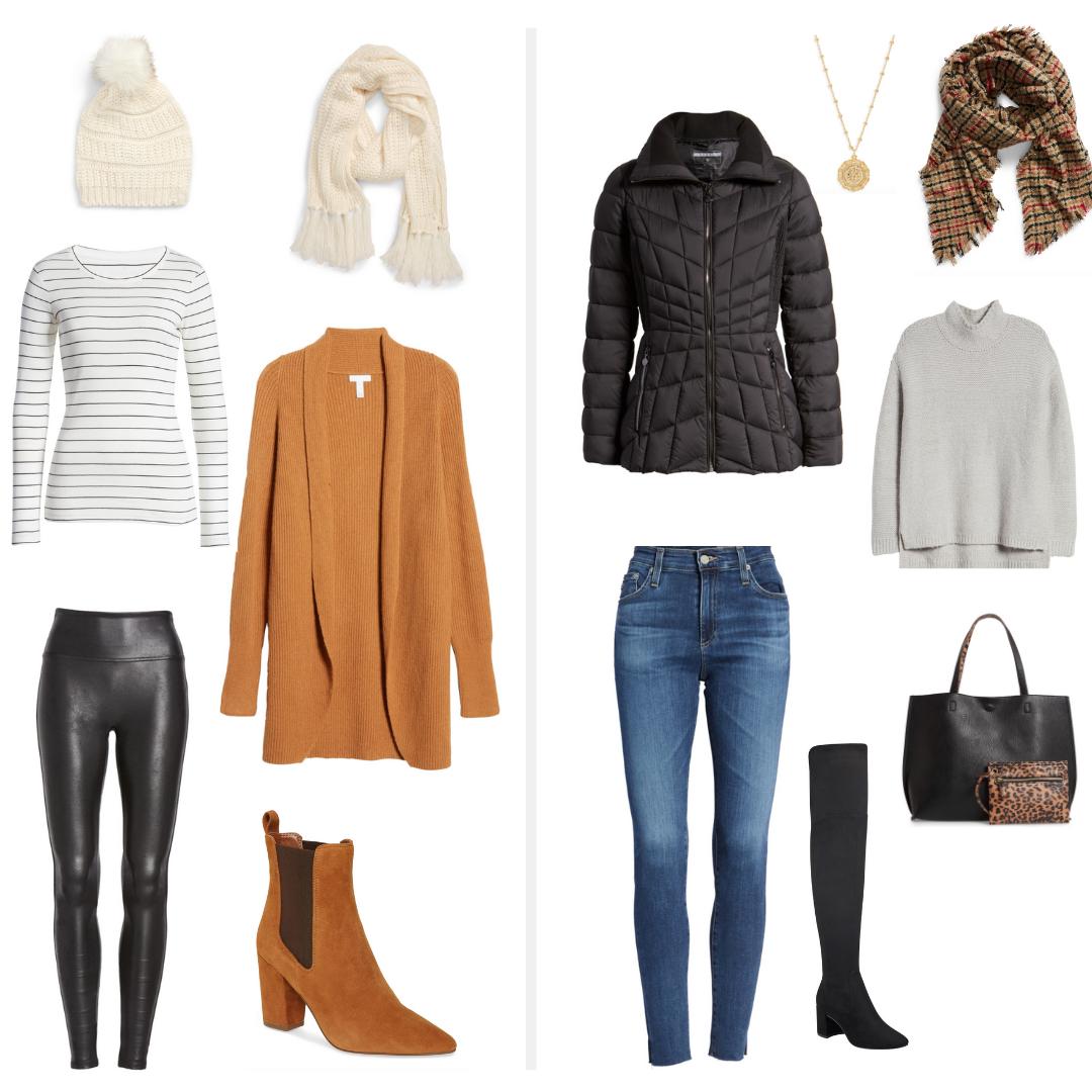 FALL Wardrobe Capsule Outfit Ideas