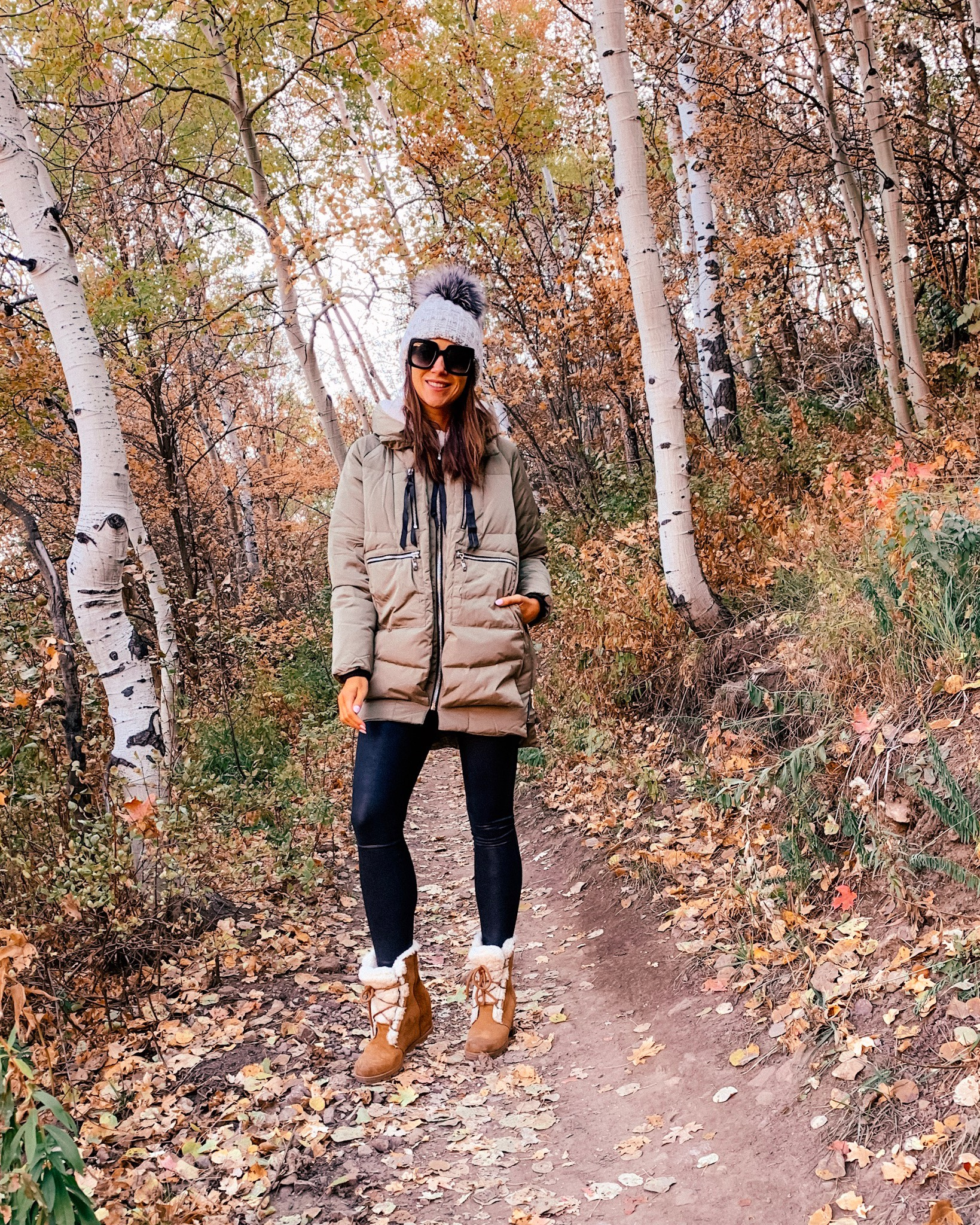 JACKET, LEGGINGS, HAT, BOOTS