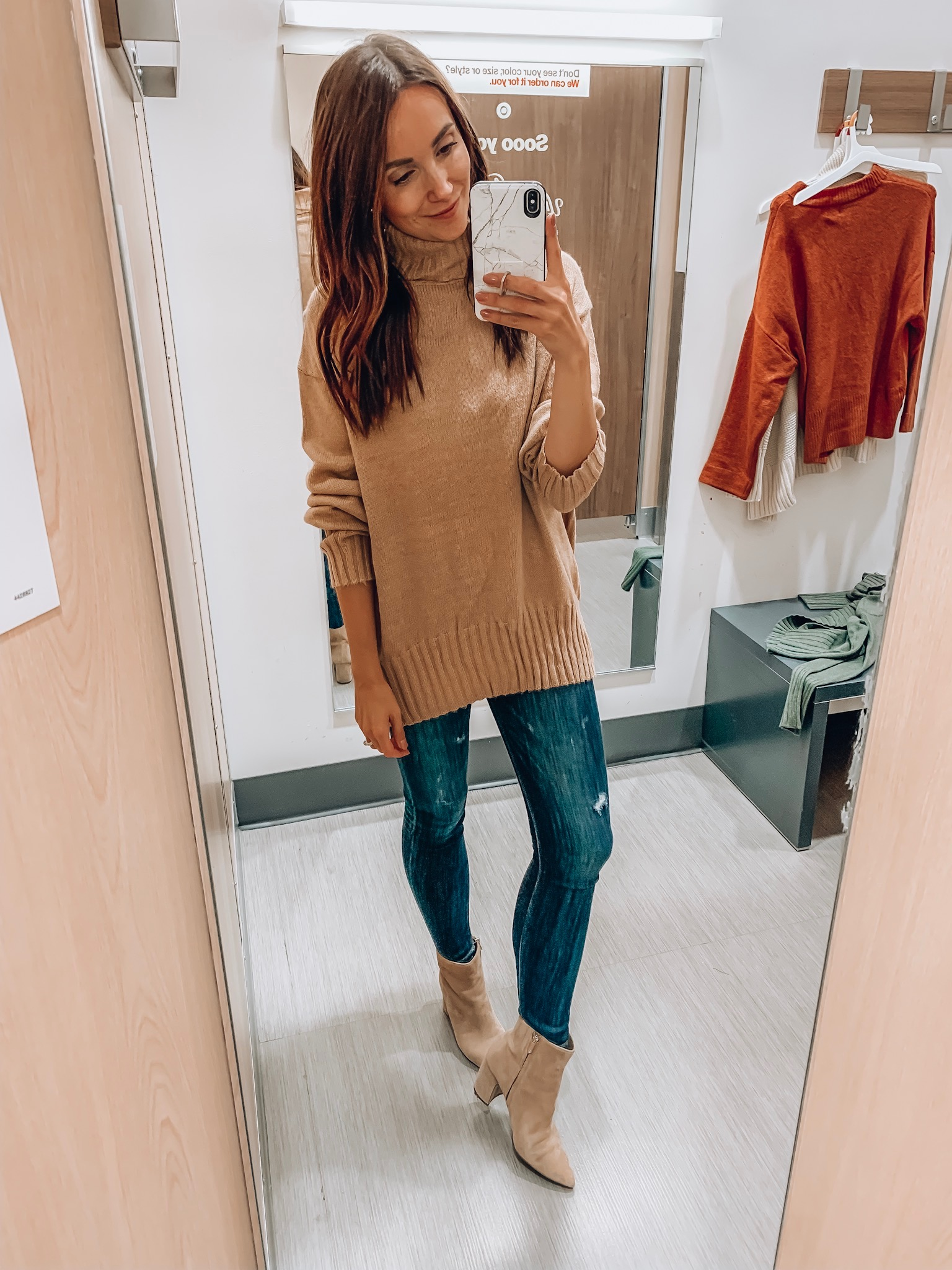 Cozy turtleneck sweater, Target