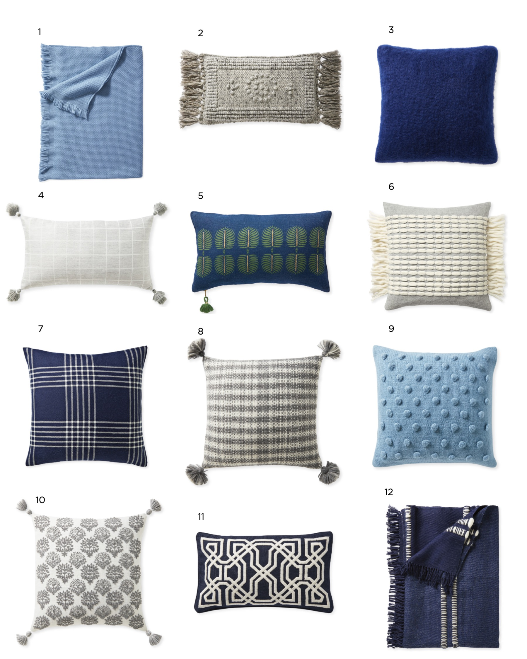 Throw Pillows from Serena & Lily