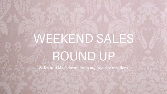 Weekend Sales Round-Up 10.4
