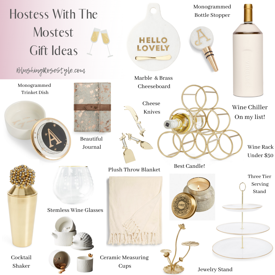 Gifts for the Hostess, White Elephant & Stocking Stuffers