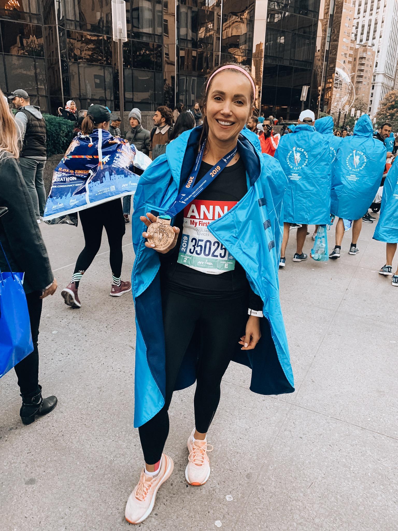Anna Runs A Marathon