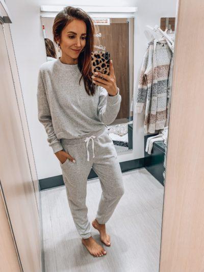 Grey sweatshirt, Grey Sweatpants, Loungewear