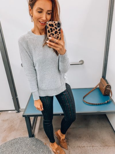 Sweater, Stevie Plaid Pant