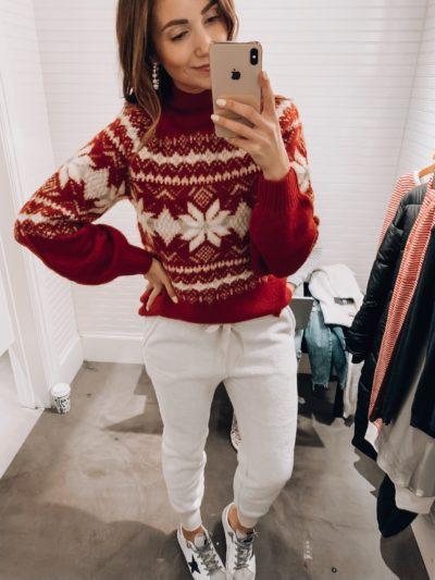 AF Sweater, AF Fleece Joggers