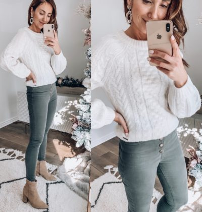 Abercrombie Sweater, Abercrombie Ankle Pants