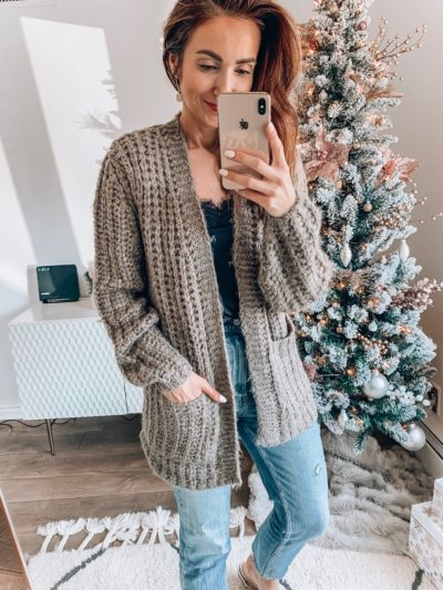Abercrombie Cardigan, Abercrombie Cami, Abercrombie Jeans
