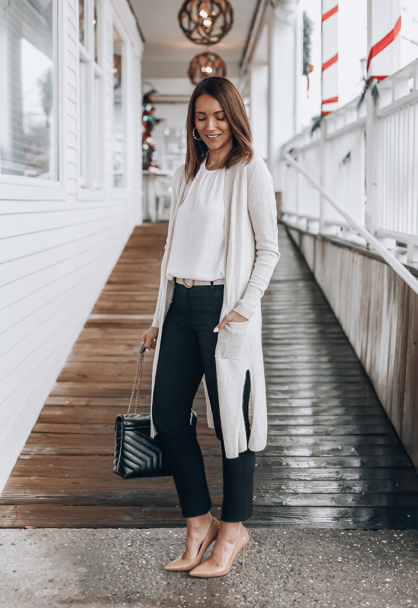 workwear outfit idea