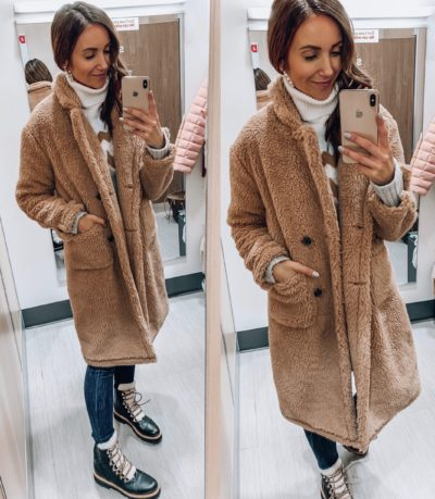 Target Teddy Coat