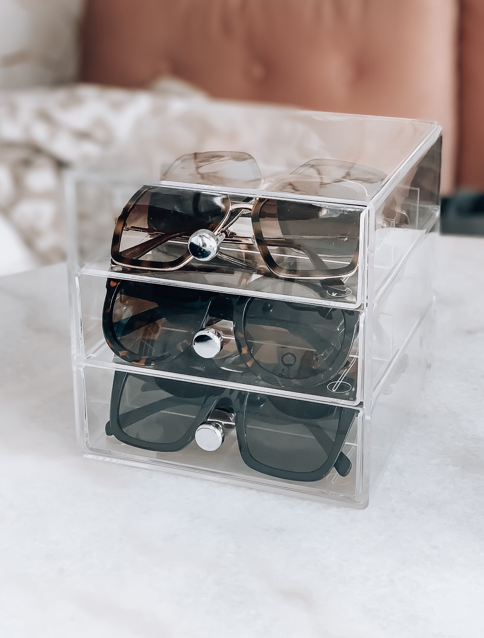 acrylic amazon sunglass organizer