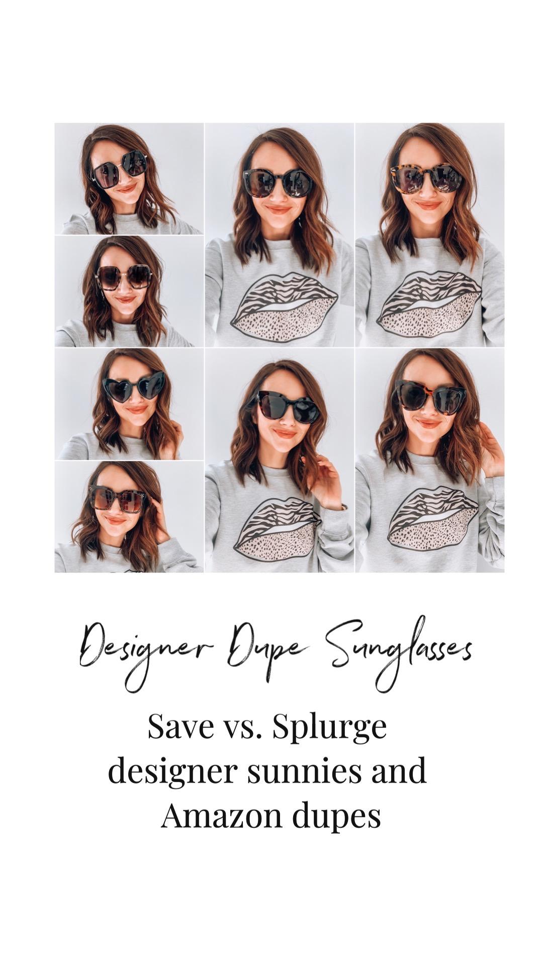 Designer Dupe sunglasses