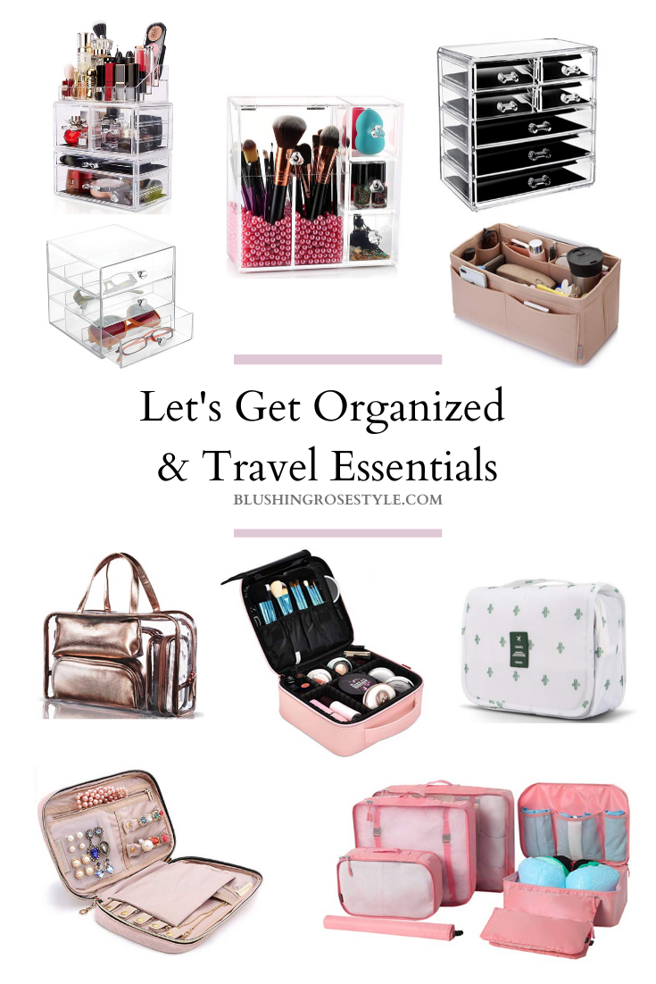 Let's Get Organized and My Favorite Travel Essentials