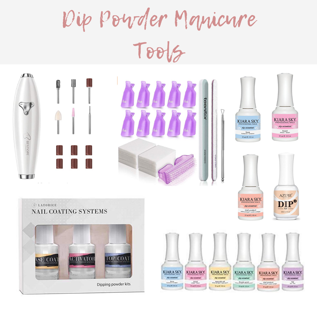 DIY Powder Manicure Tools