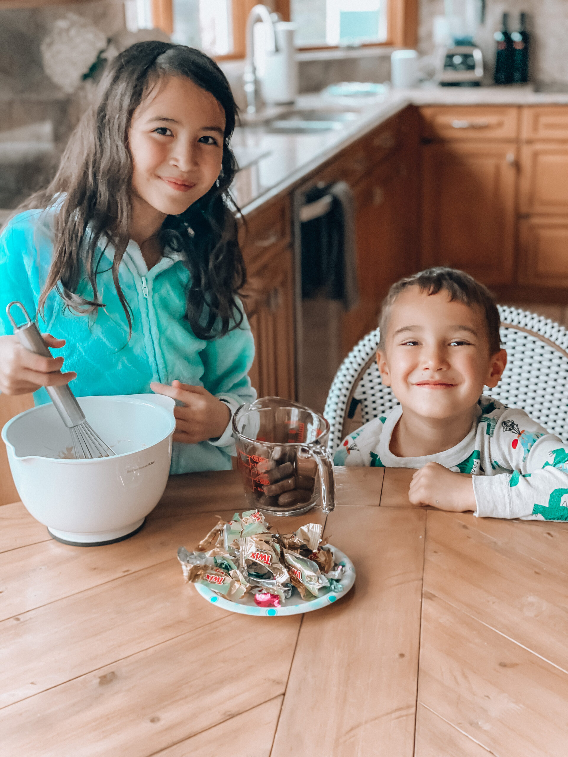 cooking with kids, leftover easter candy ideas