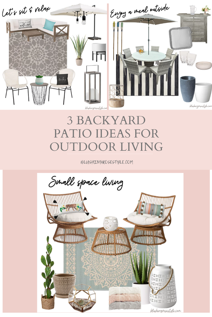 3 Backyard Patio Ideas For Outdoor Living