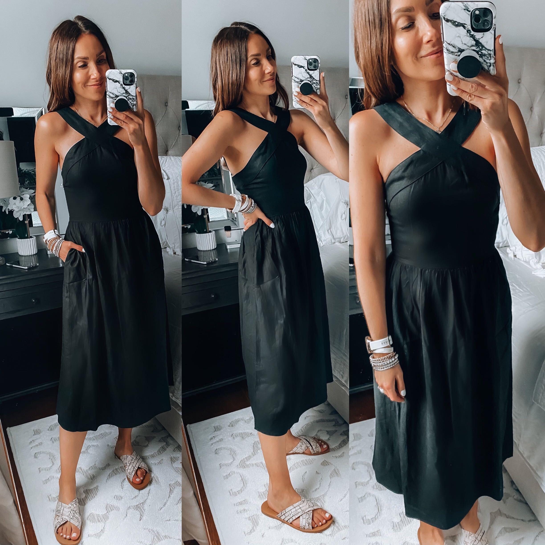 black dress, target dress
