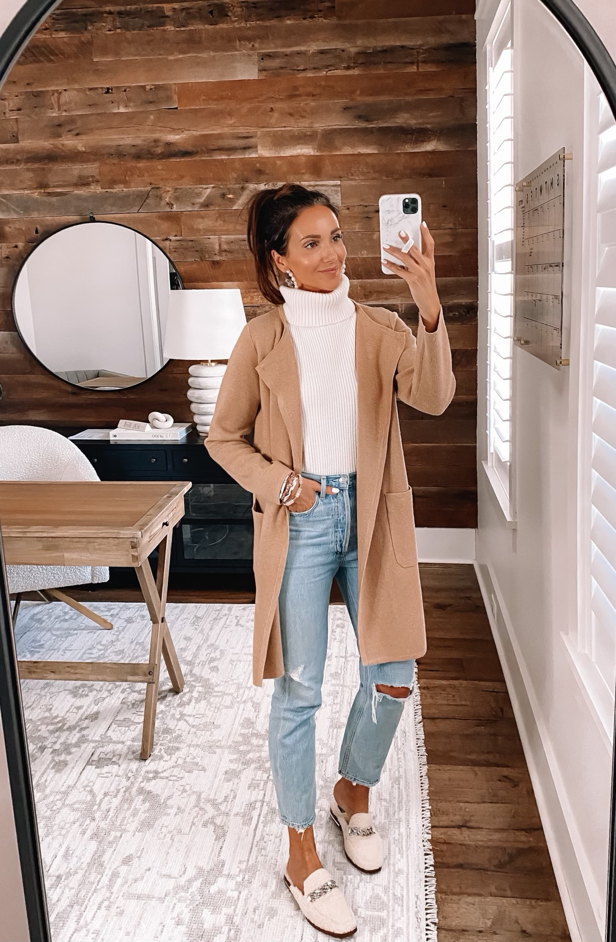 Casual outfit with jcrew juliette blazer